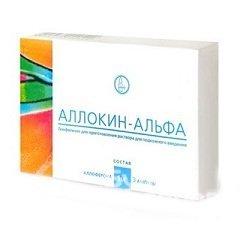 Инструкция по применению и состав препарата Аллокин-Альфа