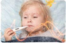 Когда появляется температура при ветрянке у детей