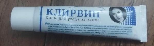Состав и инструкция по использованию крема Клирвин для лица и тела